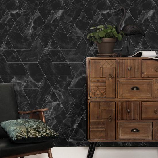 behang-marblemosaic-zwart-interieur-design-kekamsterdam-nolabel-maastricht